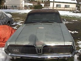 Spazda5Ls 1967 Mercury Cougar photo thumbnail