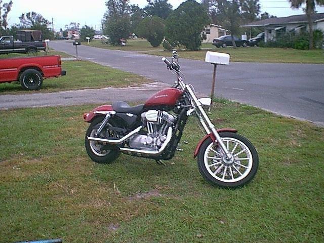 DRAGGINNISSANs 2005 Show Bikes Harley photo