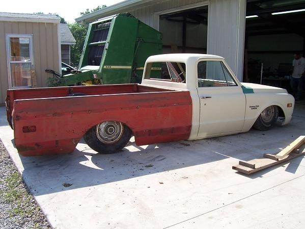 Fools Golds 1969 Chevy C-10 photo