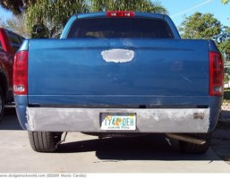 shaved and baggeds 2003 Dodge Ram photo thumbnail