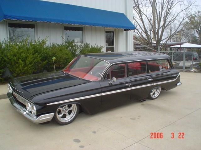 crewcaddys 1961 Chevy Impala Wagon photo