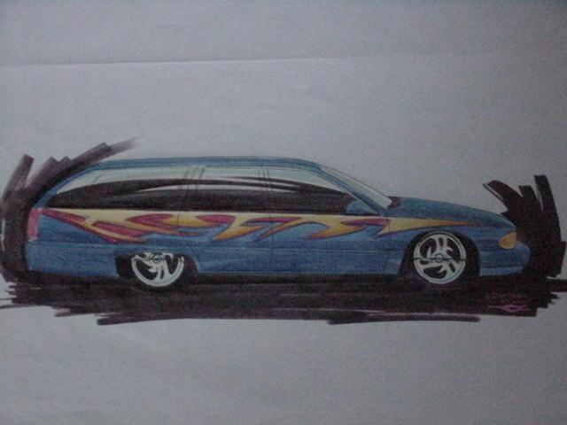 budnikguys 1991 Oldsmobile Cruser Wagon photo