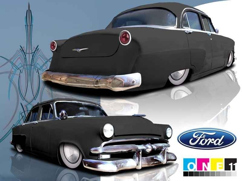 toepoints 1953 Ford Crown Victoria photo
