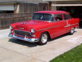 westsydetrucknrods 1955 Chevy Belair photo thumbnail