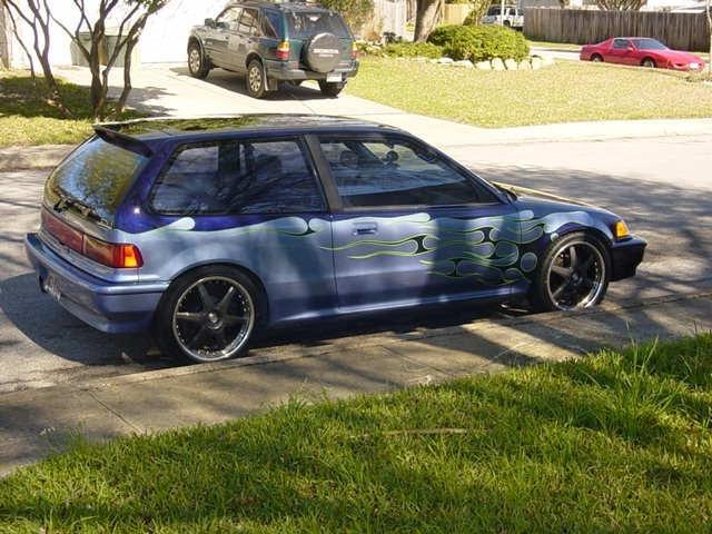 vtecjunkies 1990 Honda Civic Hatchback photo