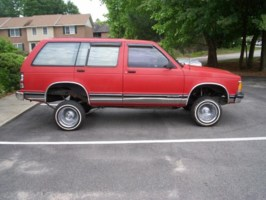 phkntkns 1992 Chevy S-10 Blazer photo thumbnail