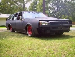draggin wagons 1987 Oldsmobile Cruser Wagon photo thumbnail