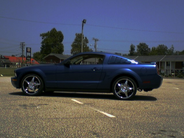 Green n Means 2006 Ford Mustang photo