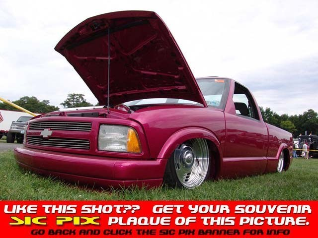 clusters 1994 Chevy S-10 photo