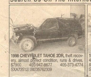 edgarmoncivaiss 1998 Chevrolet Tahoe photo