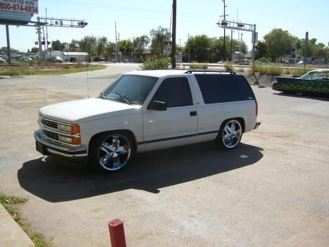 wheels580s 1998 Chevrolet Tahoe photo