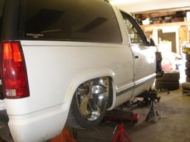 wheels580s 1998 Chevrolet Tahoe photo thumbnail