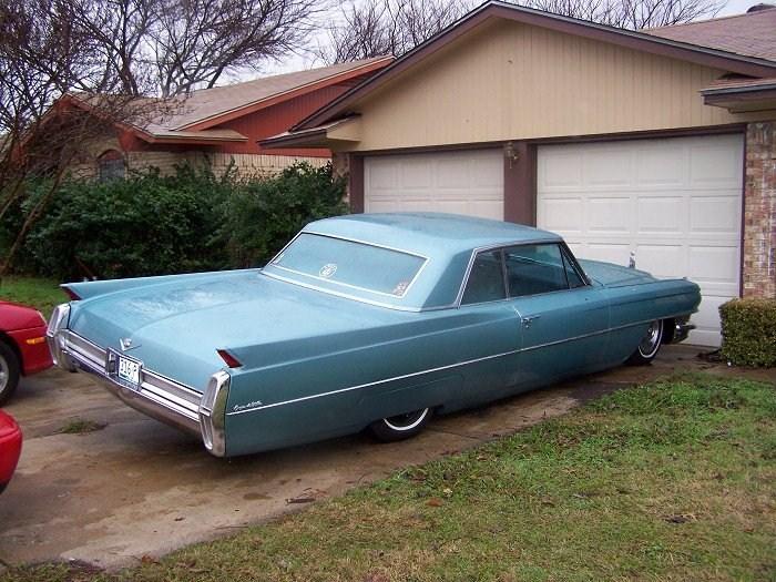 boost9psis 1964 Cadillac Coupe De Ville photo