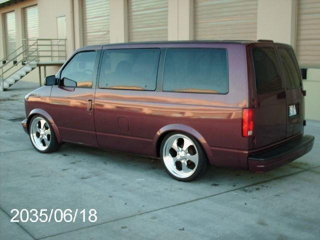 vw trins 1997 Chevy Astro Van photo