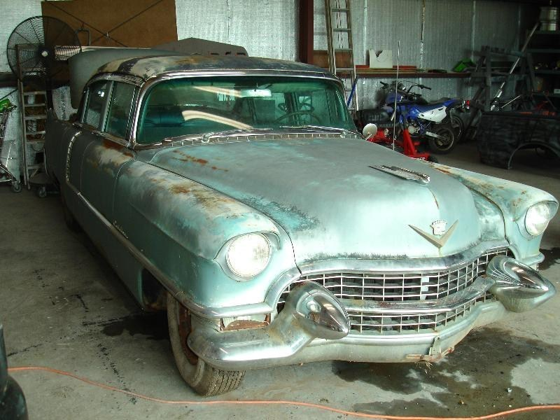 Forever Draggins 1955 Cadillac Sedan De Ville photo
