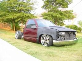 baggedchevyon20ss 1995 GMC 1500 Pickup photo thumbnail