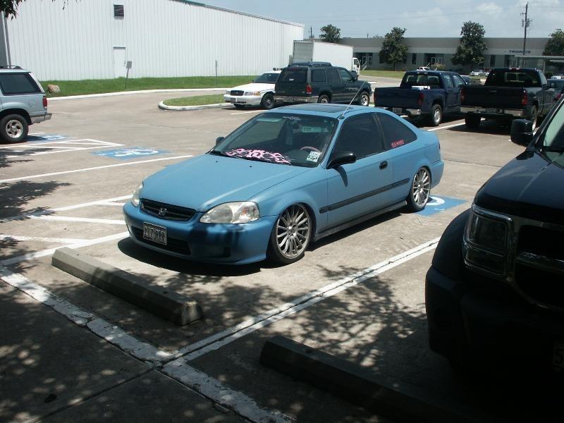 IMLOWERs 2000 Honda Civic photo