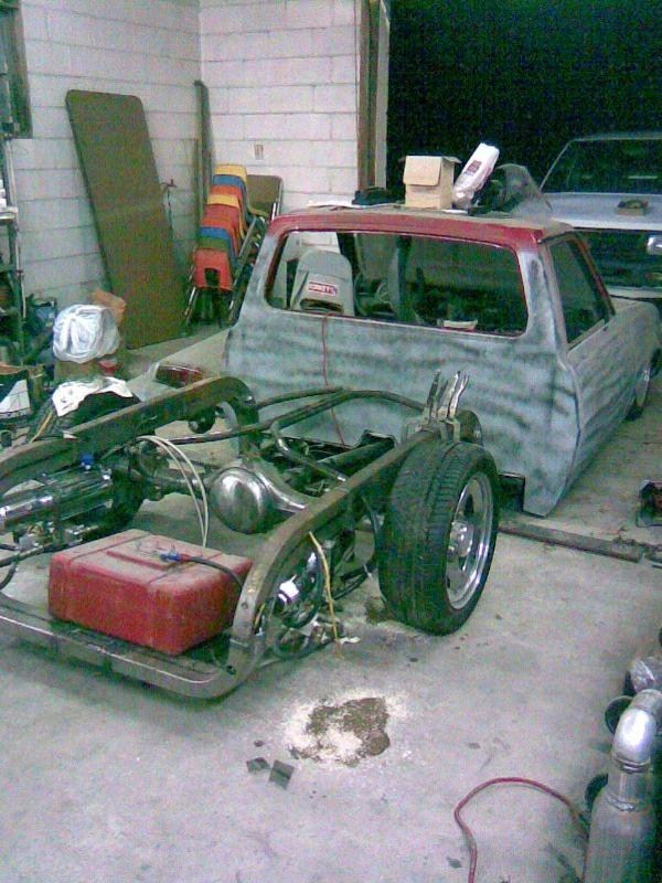 pure insanitys 1980 Dodge D-50 photo