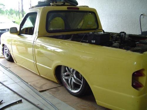 DRAGGINBODYON22Ss 1996 Mazda B3000 photo
