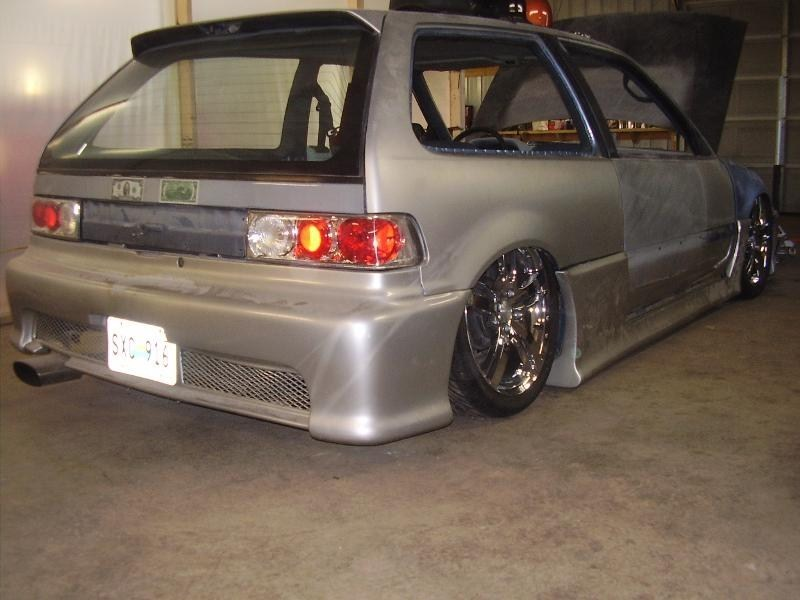 lost causes 1991 Honda Civic Hatchback photo