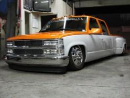 lowboy msportss 1994 Chevy Crew Cab Dually photo thumbnail