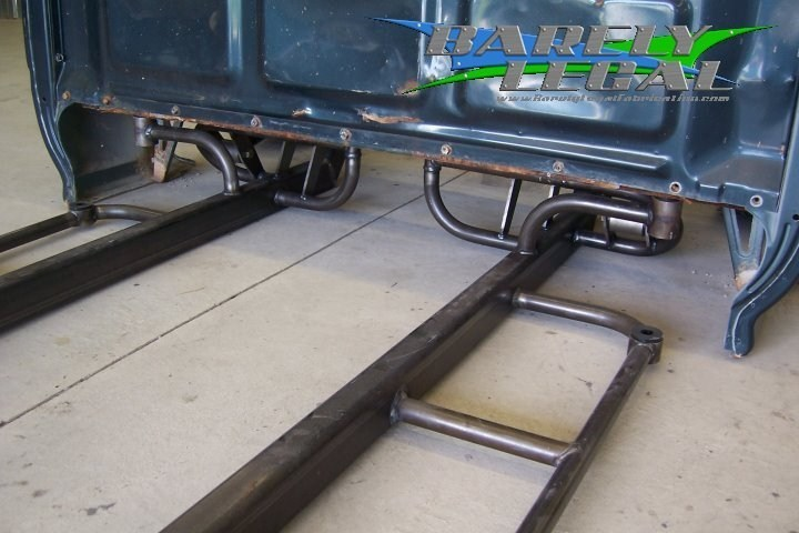 barely legal weldings 1994 Toyota 2wd Pickup photo