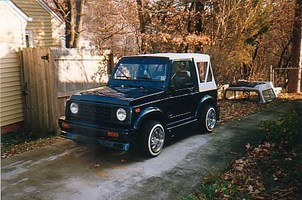 FADE2BLK94s 1987 Suzuki Samurai photo thumbnail