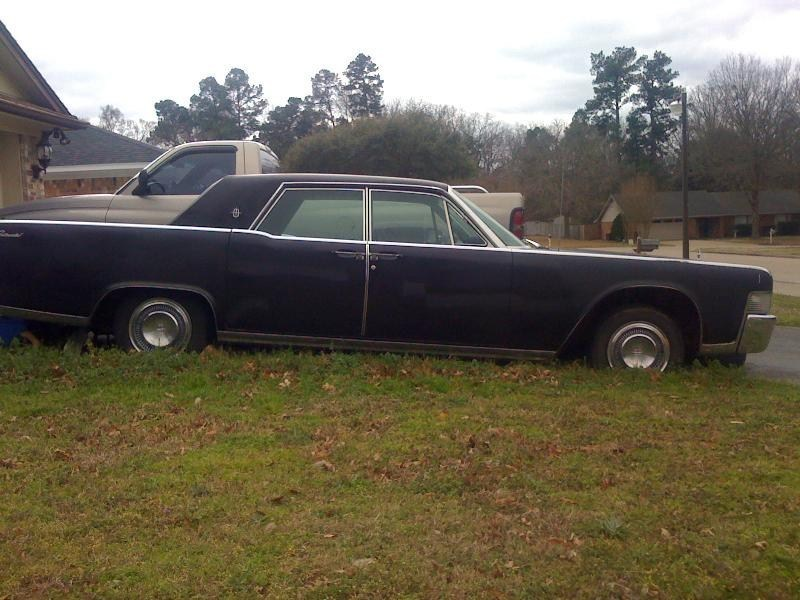 GroundedMinis 1965 Lincoln continental photo