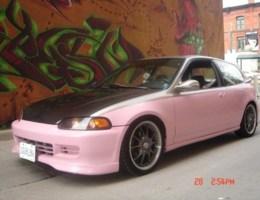 PinkCivicGirlies 1992 Honda Civic Hatchback photo thumbnail