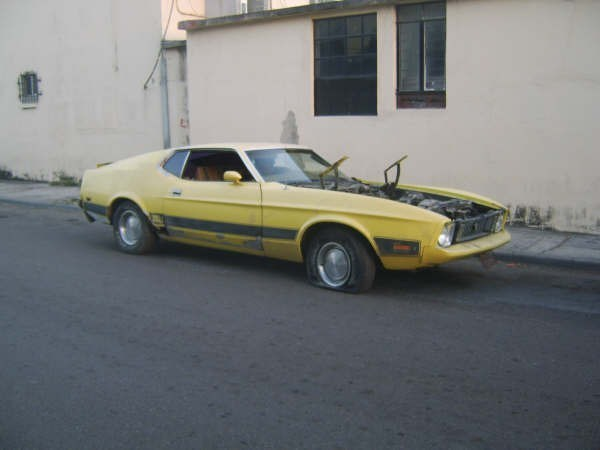 isdeleons 1973 Ford Mustang Mach 1 photo