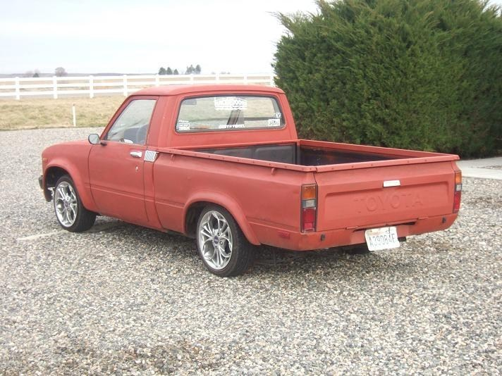 long roofs 1980 Toyota 2wd Pickup photo
