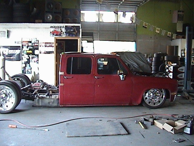 laynwoods 1986 Chevy Crew Cab Dually photo