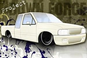 downforces 1991 Toyota Pickup photo thumbnail