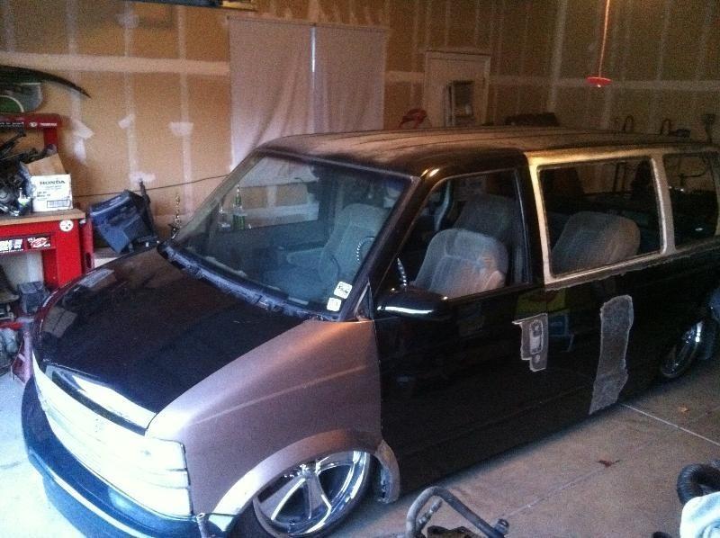 bad andys 1986 Chevy Astro Van photo
