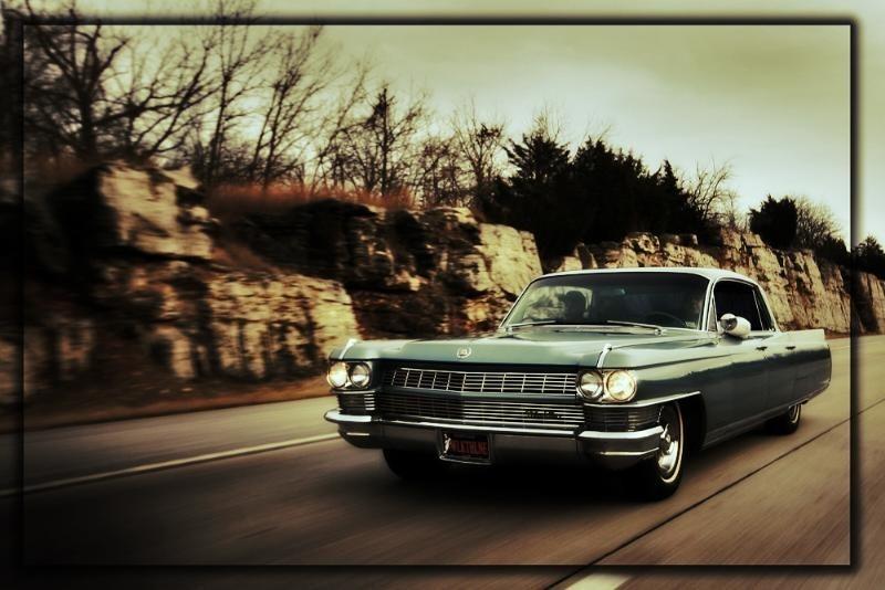 Orange Smoothies 1964 Cadillac Fleetwood photo