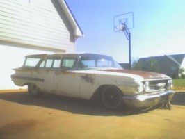 a969c1s 1960 Chevy Impala Wagon photo thumbnail