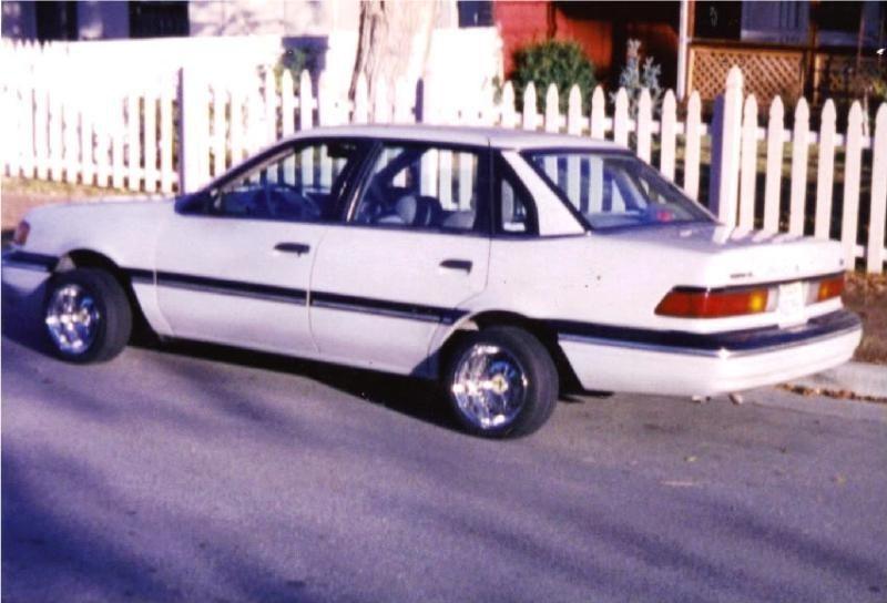 Big Danglers 1991 Ford Tempo photo