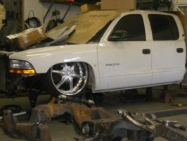 loweredforlifes 2001 Dodge Dakota Quad-Cab photo thumbnail