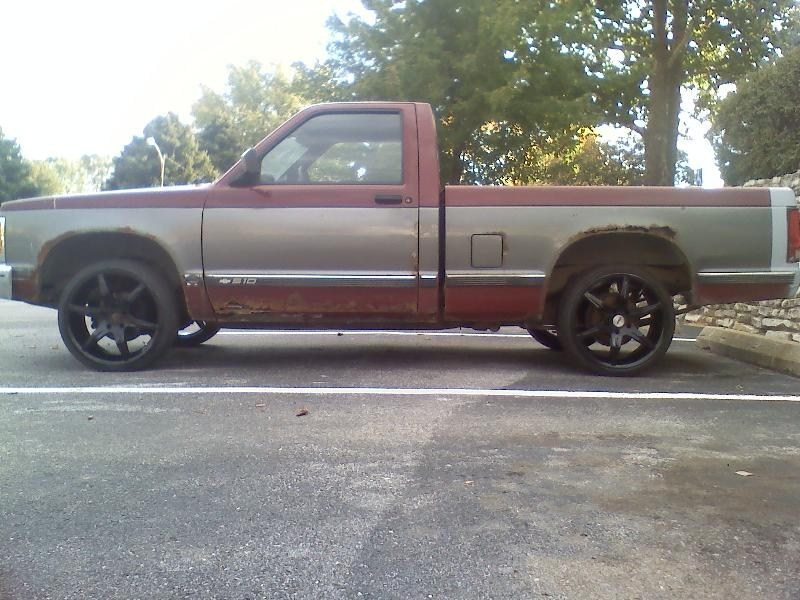 laydout22ss 1992 Chevy S-10 photo