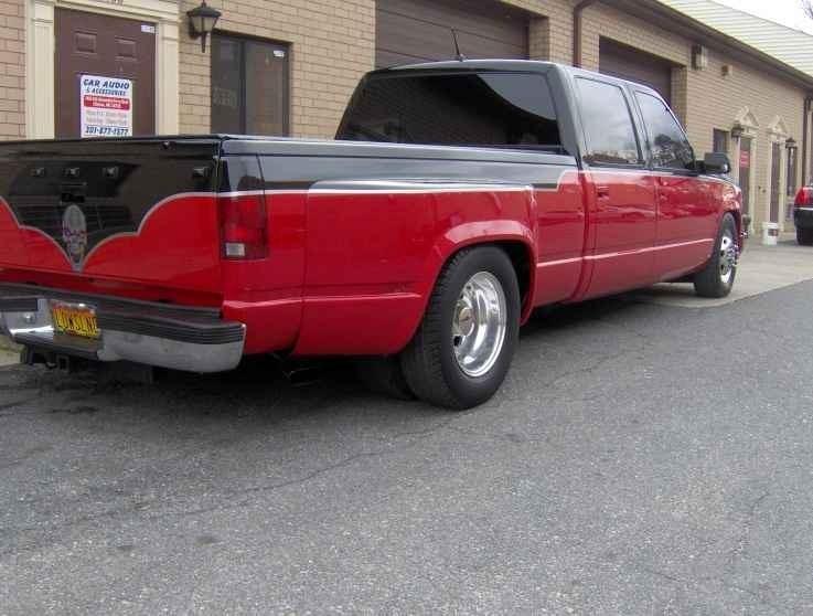 big nos 1995 Chevy Crew Cab Dually photo