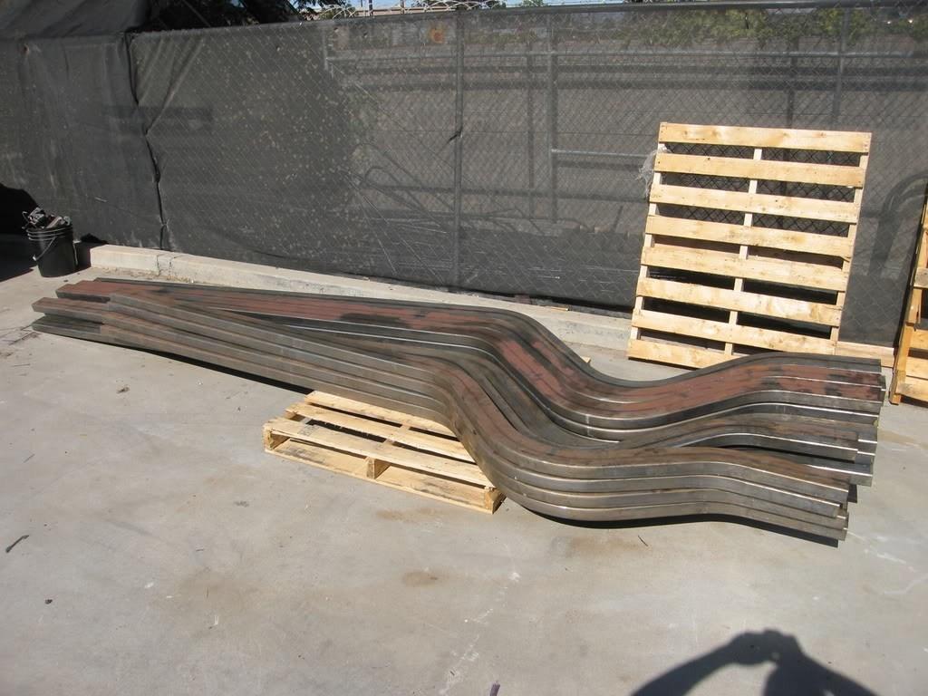 mandrel bent frame rail? - Street Source