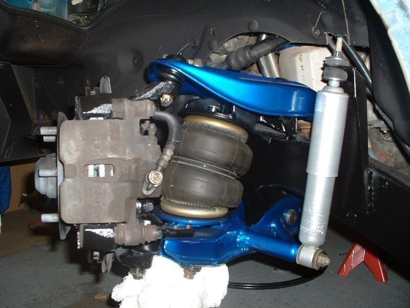 b2200 front suspension