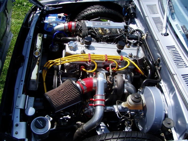 I need pictures of 22re turbo setups - Street Source