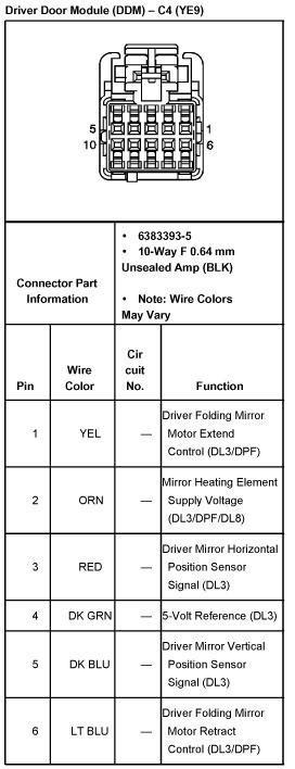 [DIAGRAM_3US]  04 2500HD mirror wiring - Street Source | Gm Mirror Wiring |  | Street Source