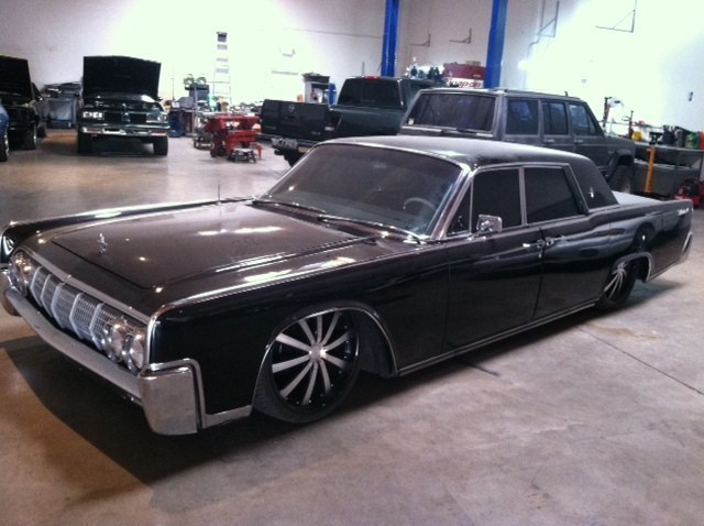64 lincoln continental build - Street Source