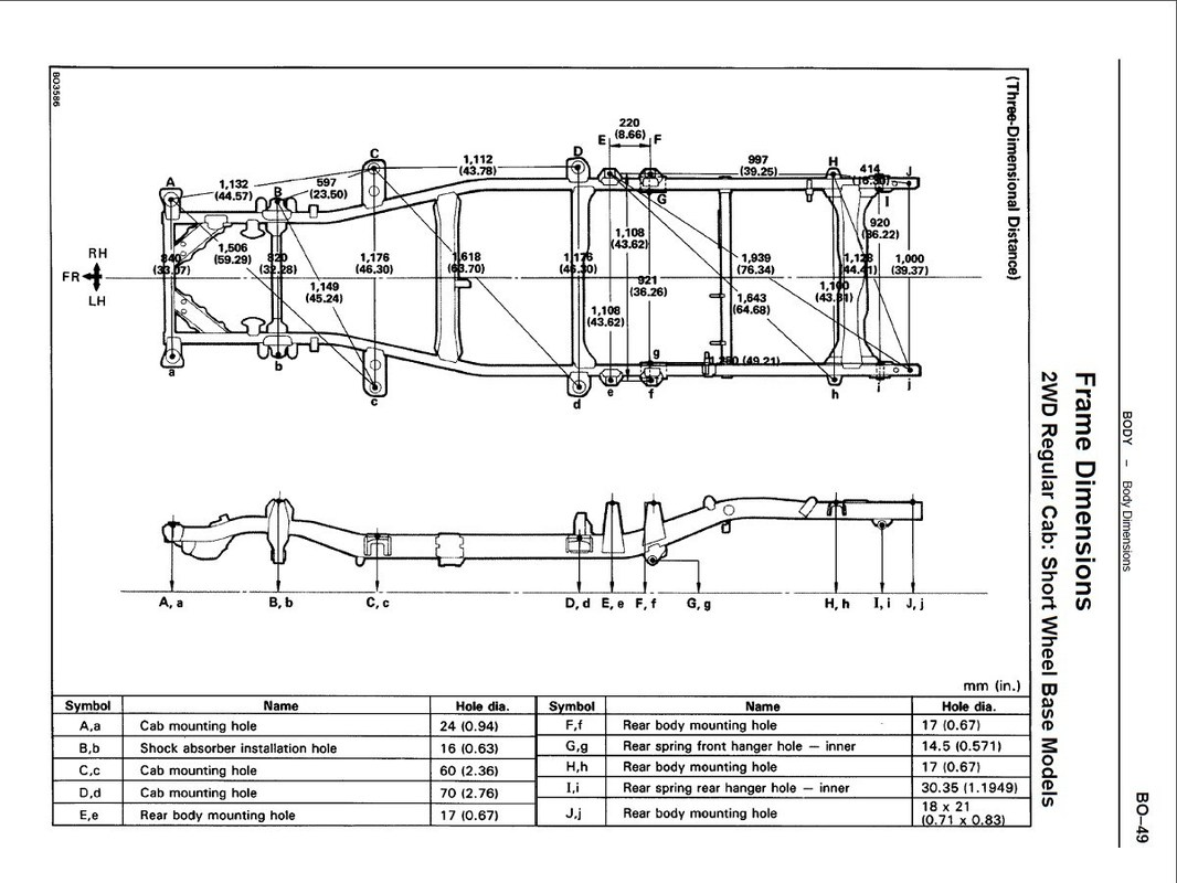 Toyota Truck Diagrams