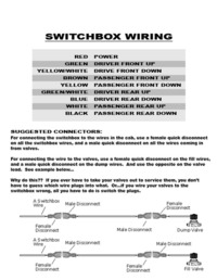 How To: Switchbox Wiring cover photo