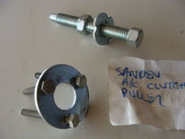 Sanden 708 AC compressor clutches removal (AC clutch) cover photo
