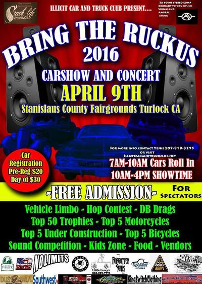 Bring The Ruckus Car Show and Concert 2016 photo