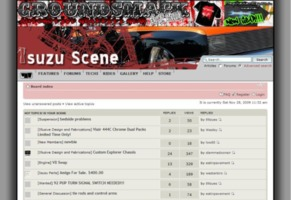 Isuzu Scene, Welcome to Street Source! Cover